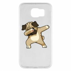 Чохол для Samsung S6 Pug Swag