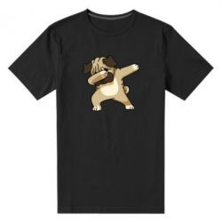 Мужская стрейчевая футболка Pug Swag