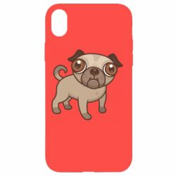 Чехол для iPhone XR Pug