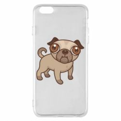 Чехол для iPhone 6 Plus/6S Plus Pug