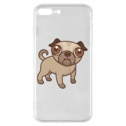 Чехол для iPhone 8 Plus Pug
