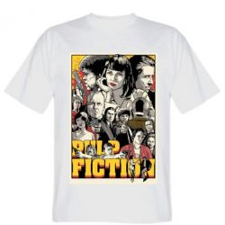 Футболка Pulp Fiction poster