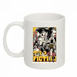 Кружка 320ml Pulp Fiction poster - FatLine