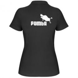 Женская футболка поло Pumba
