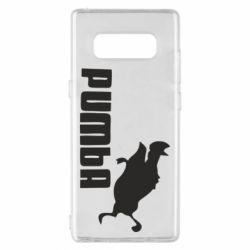 Чохол для Samsung Note 8 Pumba