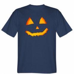 Чоловіча футболка Pumpkin face features