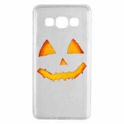Чохол для Samsung A3 2015 Pumpkin face features
