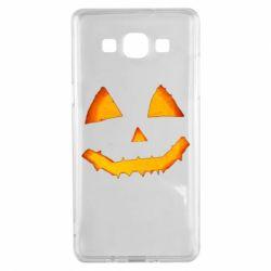 Чохол для Samsung A5 2015 Pumpkin face features
