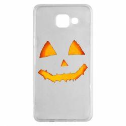 Чохол для Samsung A5 2016 Pumpkin face features
