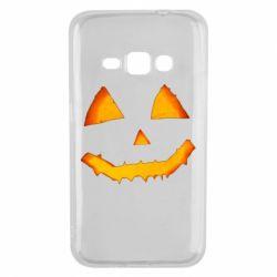 Чохол для Samsung J1 2016 Pumpkin face features