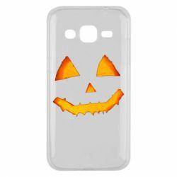 Чохол для Samsung J2 2015 Pumpkin face features