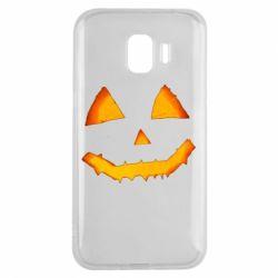 Чохол для Samsung J2 2018 Pumpkin face features