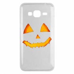Чохол для Samsung J3 2016 Pumpkin face features