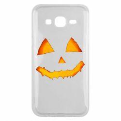 Чохол для Samsung J5 2015 Pumpkin face features