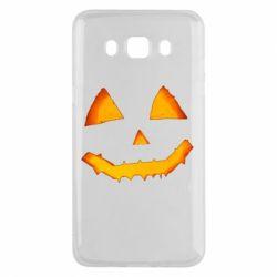 Чохол для Samsung J5 2016 Pumpkin face features