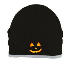 Шапка Pumpkin face features