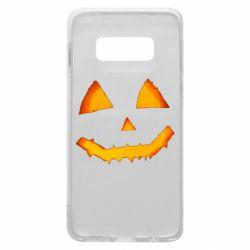 Чохол для Samsung S10e Pumpkin face features