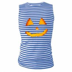 Майка-тільняшка Pumpkin face features