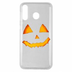 Чохол для Samsung M30 Pumpkin face features