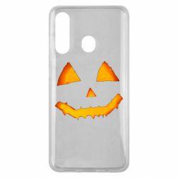 Чохол для Samsung M40 Pumpkin face features