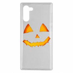 Чохол для Samsung Note 10 Pumpkin face features