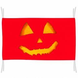 Прапор Pumpkin face features