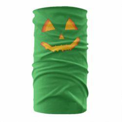 Бандана-труба Pumpkin face features