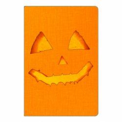 Блокнот А5 Pumpkin face features
