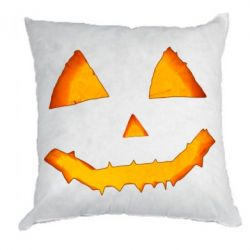 Подушка Pumpkin face features