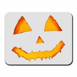 Килимок для миші Pumpkin face features