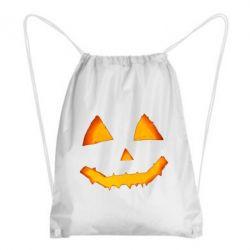 Рюкзак-мішок Pumpkin face features