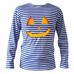 Тільник з довгим рукавом Pumpkin face features