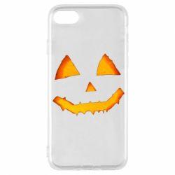Чохол для iPhone 7 Pumpkin face features