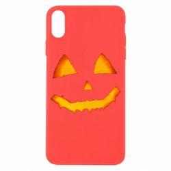 Чохол для iPhone X/Xs Pumpkin face features