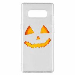 Чохол для Samsung Note 8 Pumpkin face features