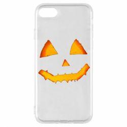 Чохол для iPhone 8 Pumpkin face features