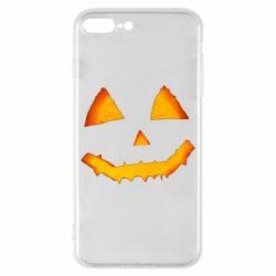 Чохол для iPhone 8 Plus Pumpkin face features