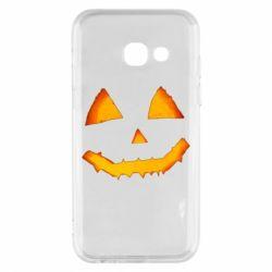 Чохол для Samsung A3 2017 Pumpkin face features