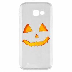 Чохол для Samsung A5 2017 Pumpkin face features