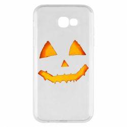 Чохол для Samsung A7 2017 Pumpkin face features