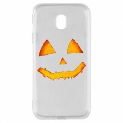 Чохол для Samsung J3 2017 Pumpkin face features