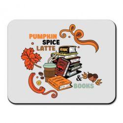 Купить Коврик для мыши Pumpkin Spice Latte & Books, FatLine