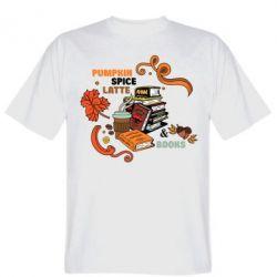 Футболка Pumpkin Spice Latte & Books