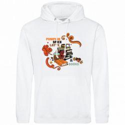 Мужская толстовка Pumpkin Spice Latte & Books