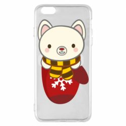 Чехол для iPhone 6 Plus/6S Plus Puppy in a mitten