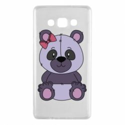 Чохол для Samsung A7 2015 Purple Teddy Bear