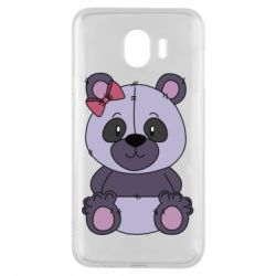 Чохол для Samsung J4 Purple Teddy Bear