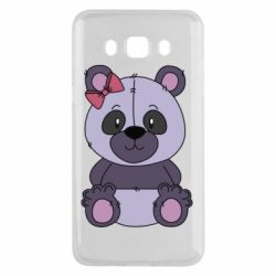 Чохол для Samsung J5 2016 Purple Teddy Bear