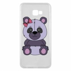 Чохол для Samsung J4 Plus 2018 Purple Teddy Bear