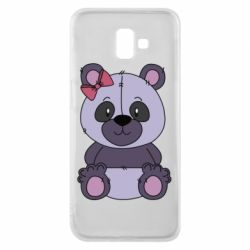 Чохол для Samsung J6 Plus 2018 Purple Teddy Bear